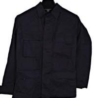 Jaket hitam BB Bahan Ristok (Kotak)