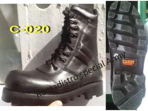 sepatu PDL CI-ARMY model standart Pembagian TNI baru Kulit Asli Kualitas Terjamin!!