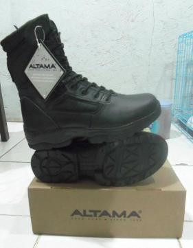 Sepatu PDL ALTAMA Black Colour 18d39ec09a