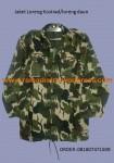 Jaket BB loreng daun