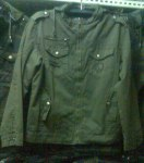 Jaket Green Full Korea
