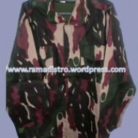 Jual aneka jaket loreng murah kualitas terjamin loreng linud,nkri,kostrad,kopassus,malvinas,desert gurun,Marpat,digital,raider,kostrad,hitam,hijau dan aneka sweater Army Lengkap