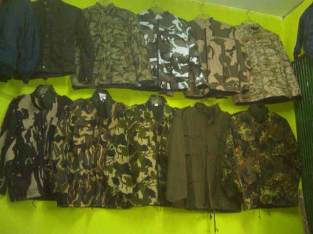 Jaket Jual Aneka Barang Perlengkapan Militer Tni Polri