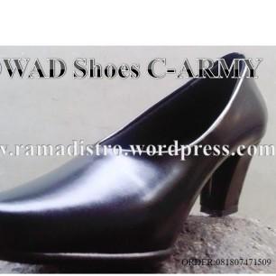 Sepatu PDH Wanita hak 5cm dop