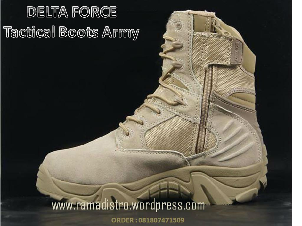 Jual aneka Sepatu Militer,DELTA Force USA Gurun kualitas