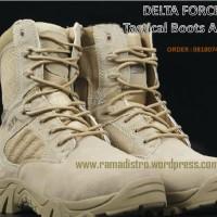 Jual aneka Sepatu Militer,DELTA Force USA Gurun kualitas Import,harga Murah!