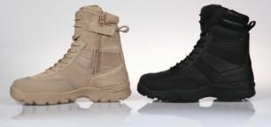 511army boots slip jipper gurun dan hitam