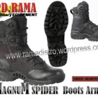 Jual sepatu Import MAGNUM spider Jipper Blackcolour  Special army fashion