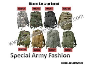 grosir tas army murah bandung ramadistro