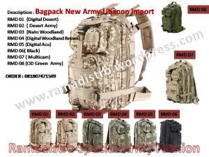 tas army import murah ramadistro