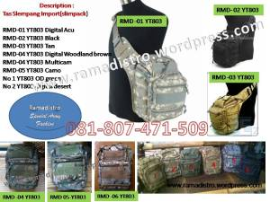 Tas slempang Import Army YT 803