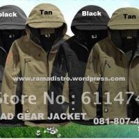 Jual Jaket TAD GEAR Import berbagai Varian Warna, Od Green,Tan Gurun Dan Black(Hitam)