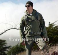 TAD-V-4-0-Men-s-Outdoor-Hunting-Camping-Fleeces-Coats-Jacket-Hoody-EMS-4 od greesn5-Black