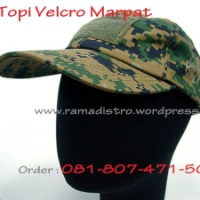 Topi Camo Patch Digital Nato Woodland Brown(marpat)