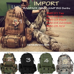 TAS ARMY JUMP BIG double Jumbo Import