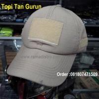 Jual Aneka Topi Velcro Tactical Army Kulitas bagus Klep Korea tersedia loreng acu,marpat,tan gurun,hitam,digital desert,kko marines,blue navy