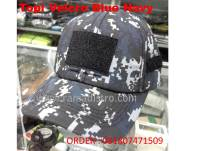 Topi velcro Navy