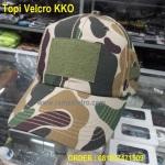 Jual aneka topi velcro tactical army kulitas bagus klep korea tersedia