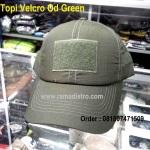 Topi Velcro Od green