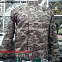 Jaket bodypress snake