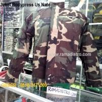 Jaket bodypress Us Nato