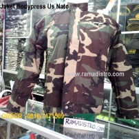 Jaket bodypress Us Nato
