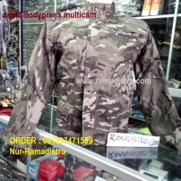 Jaket bodypress Multicam