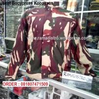 Jaket Bodypress Kopassus