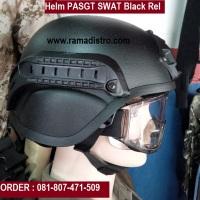Menjual dan Memproduksi pesanan HELM  PASGT SWAT Rel Hitam