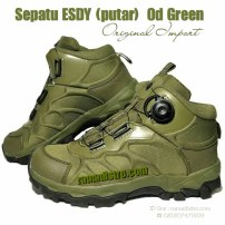 sepatu ESDY OD green