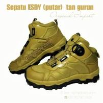 sepatu ESDY tan