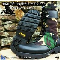 Jual Sepatu Ninja Loreng Malvinas Tni (tactical army boots)