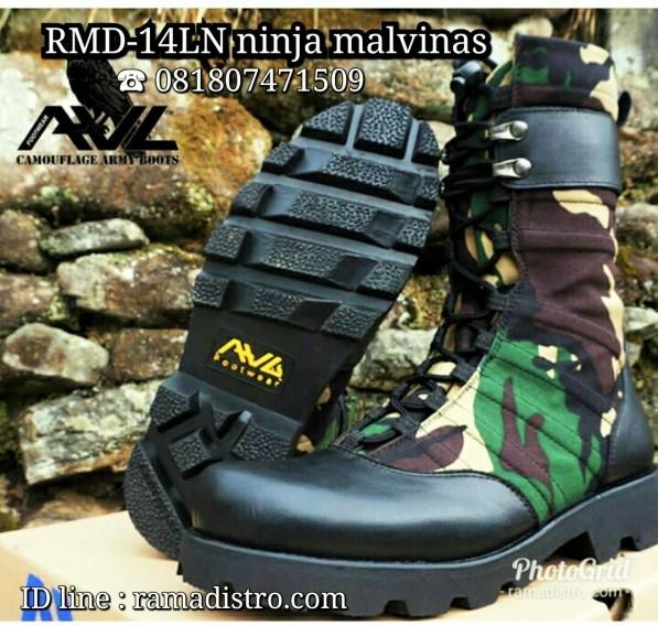 sepatu ninja loreng